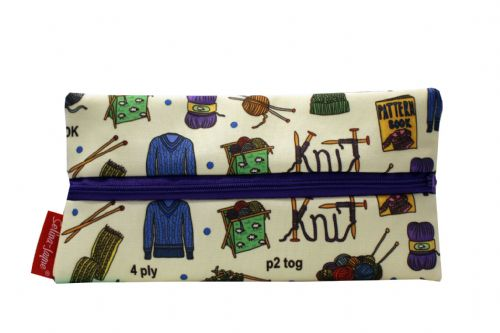 Selina-Jayne Knitting Limited Edition Designer Pencil Case